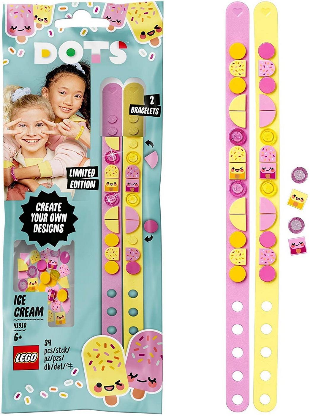 Lego Dots Bratari Prajiturele Simpatice 41910