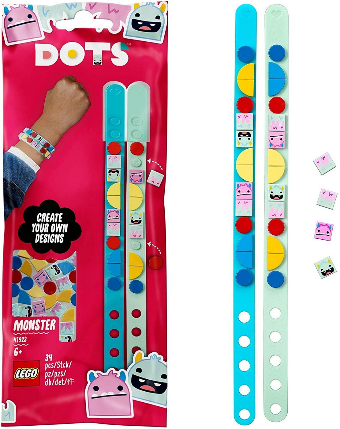 Lego Dots Bratara Cu Monstruleti 41923