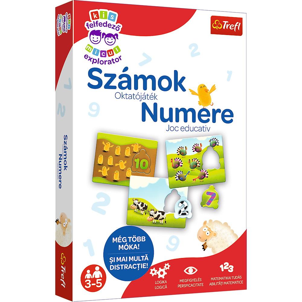 Joc Educativ Invata Numerele Micul Explorator