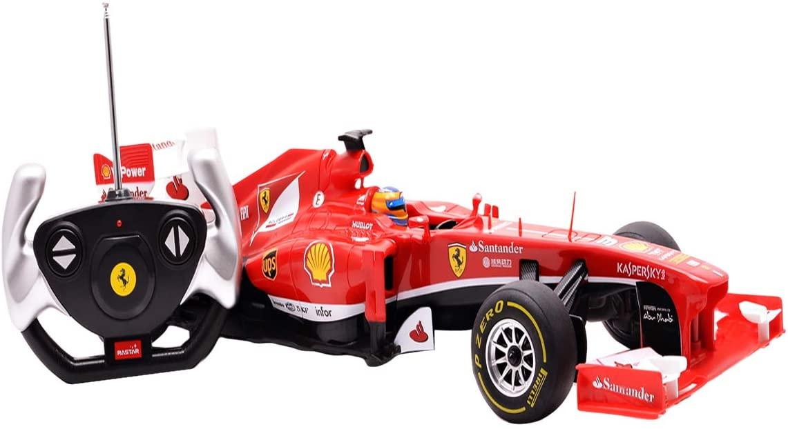 Masina Cu Telecomanda Ferrari F1 Scara 1 La 12