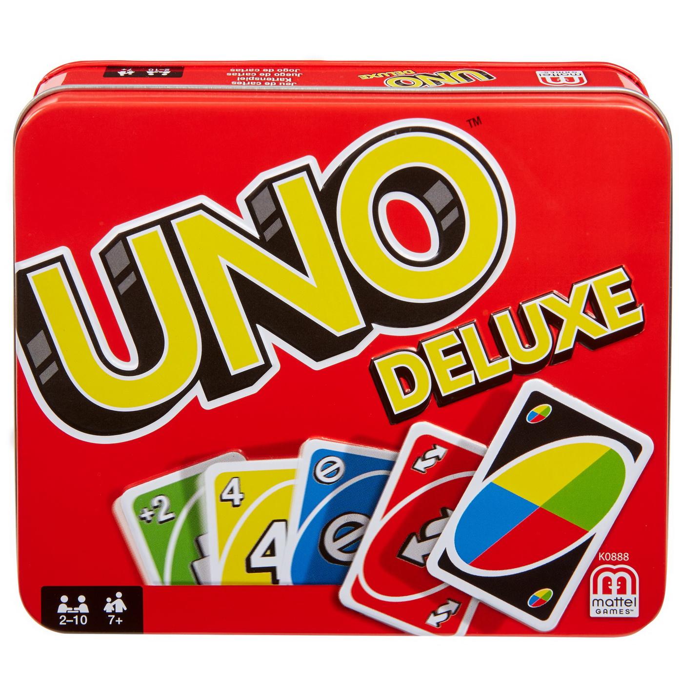 Carti De Joc Uno Deluxe