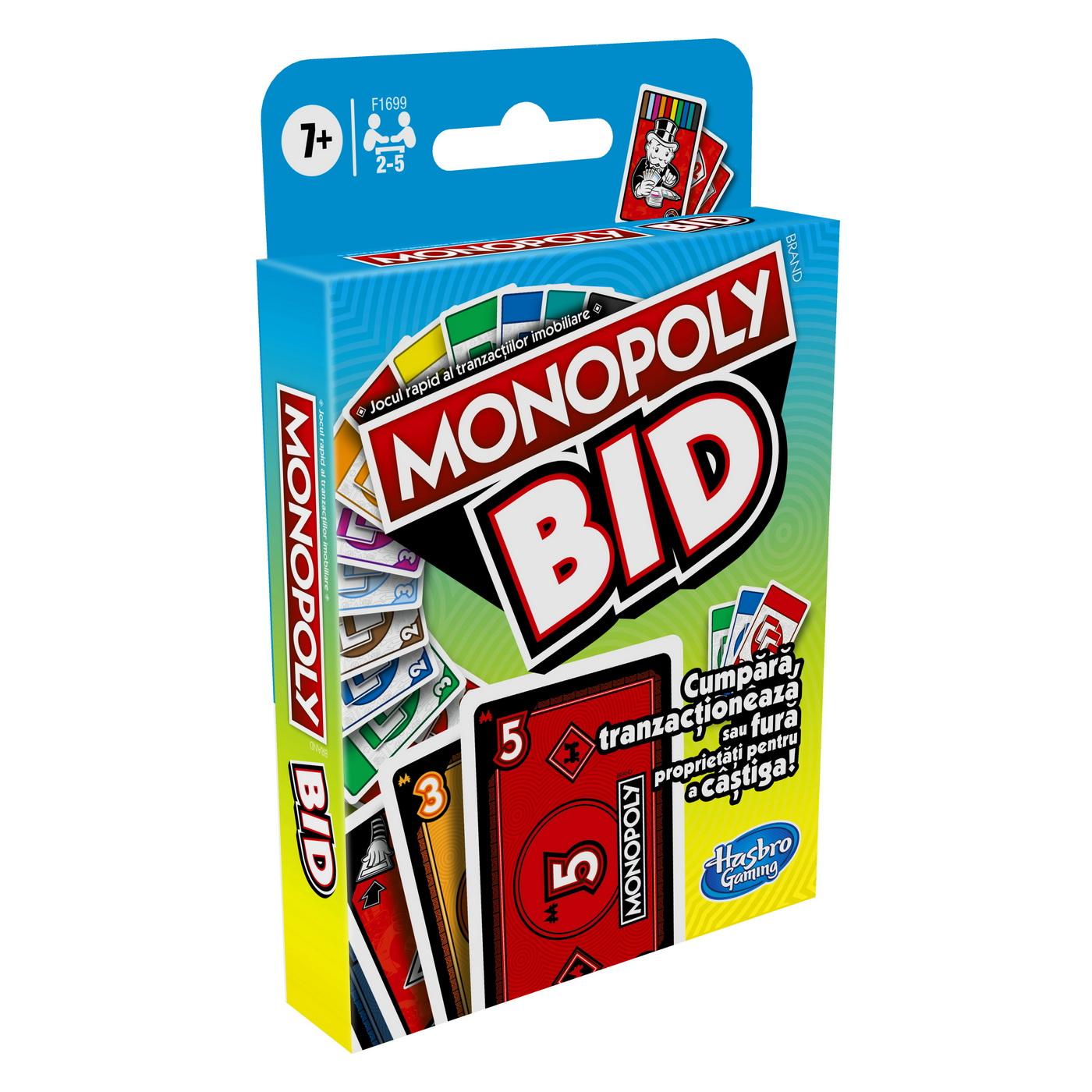 Monopoly Bid Jocul De Carti