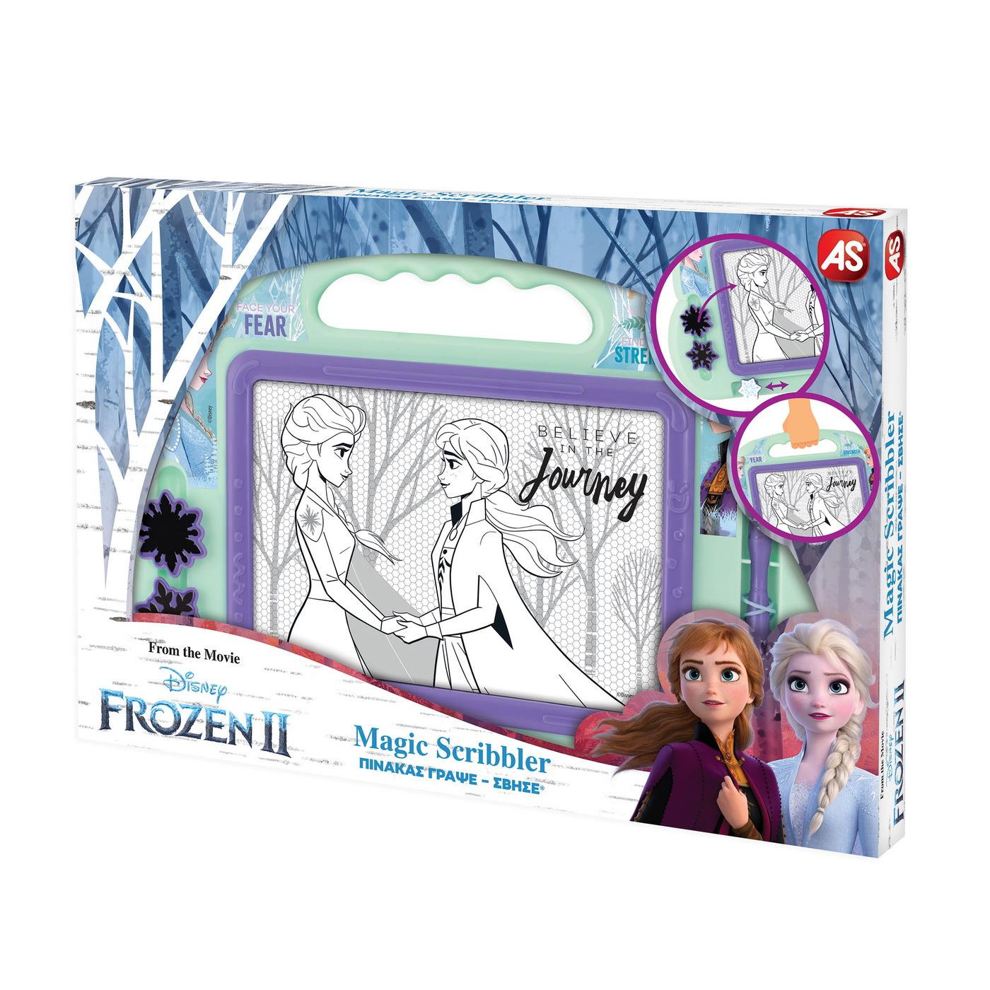 Tabla Magnetica Magic Scribbler Frozen