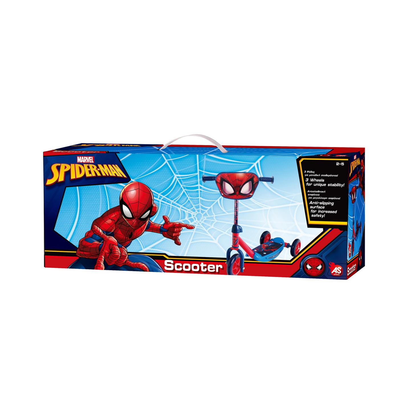 Trotineta Cu 3 Roti Spiderman