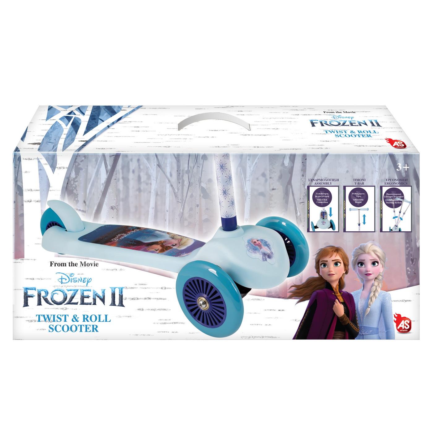 Trotineta Twist And Roll Frozen2