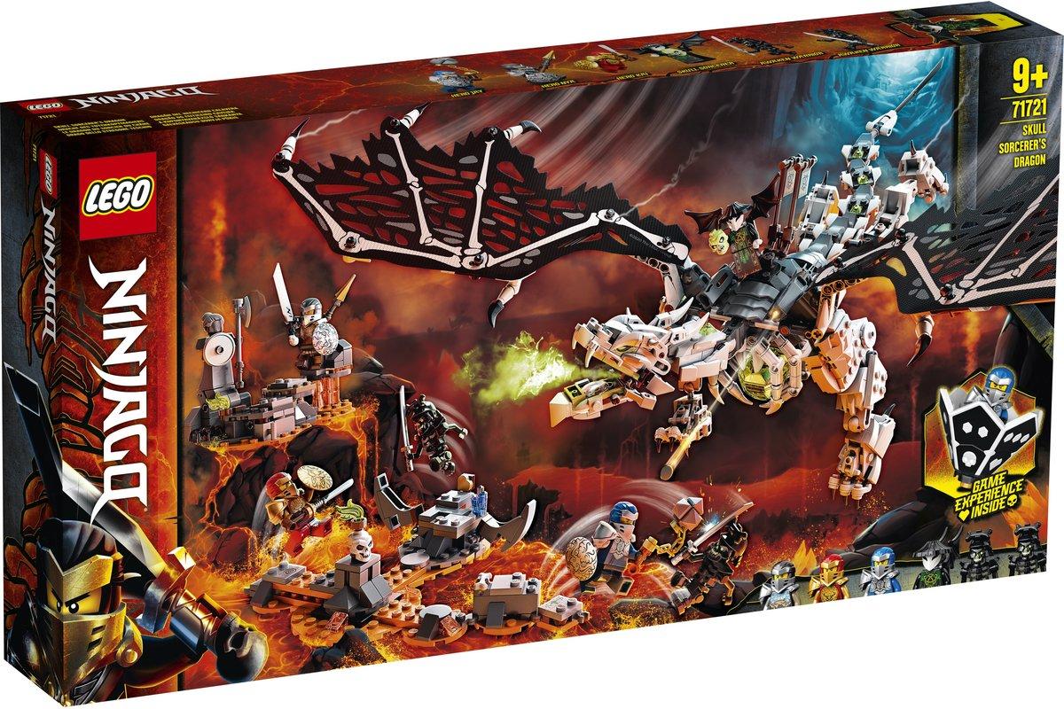Lego Ninjago Dragonul Vrajitorului Craniu 71721