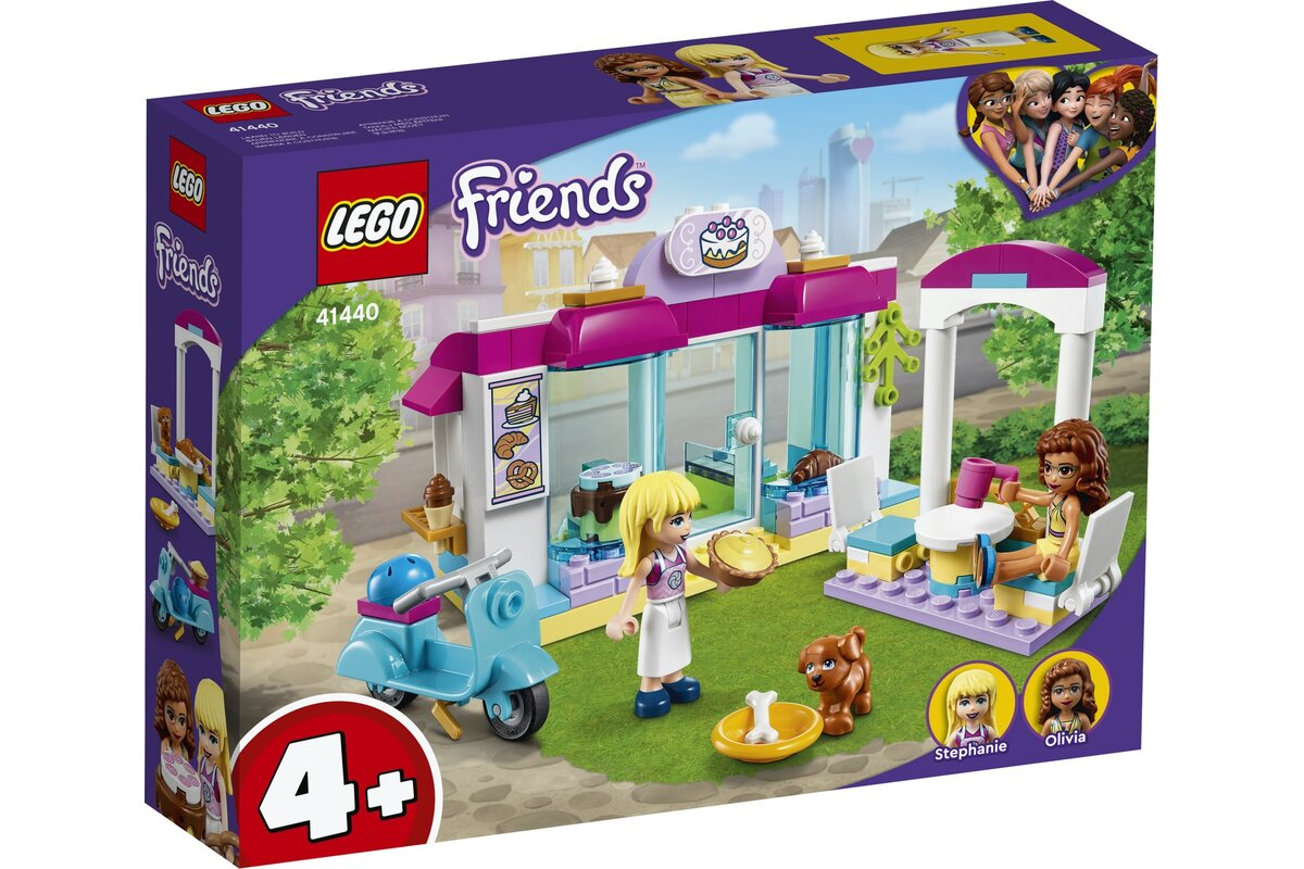 Lego Friends Brutaria Heartlake City 41440