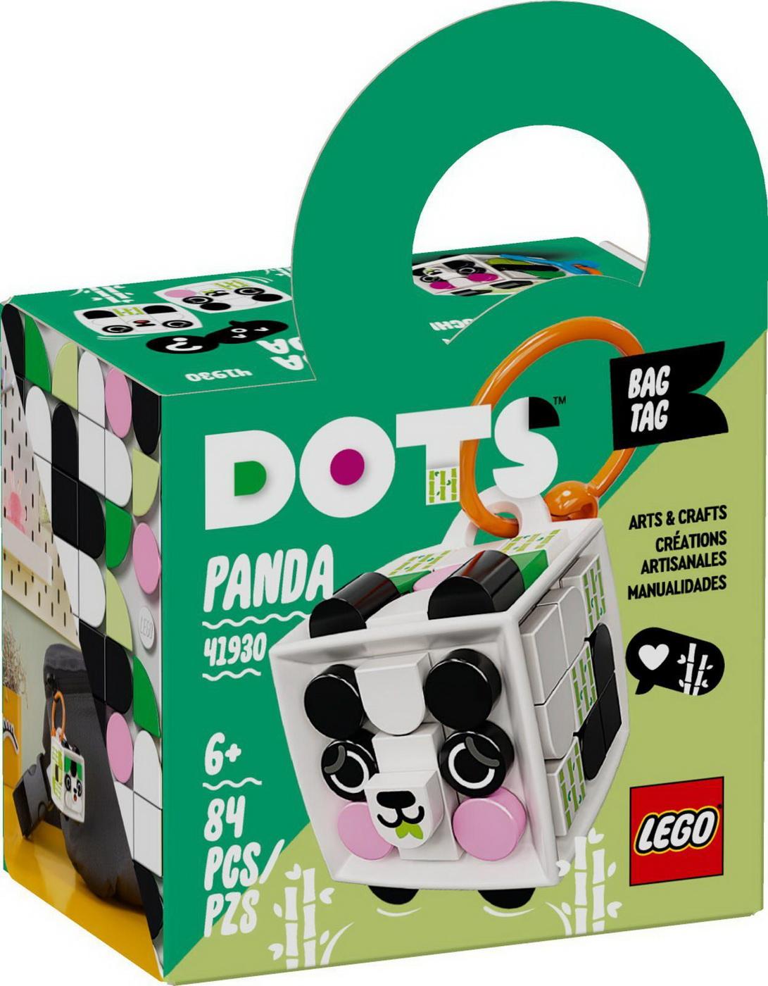 Lego Dots Panda Ecuson De Bagaj 41930