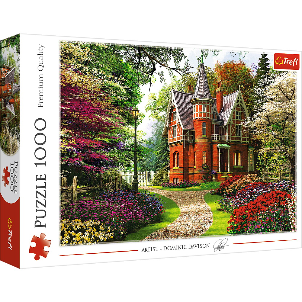 Puzzle Trefl 1000 Casa In Stil Victorian