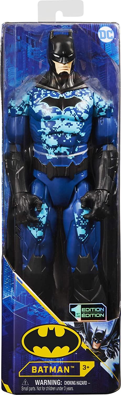 Batman Figurina 30cm Cu Costum Blue Editie Limitata