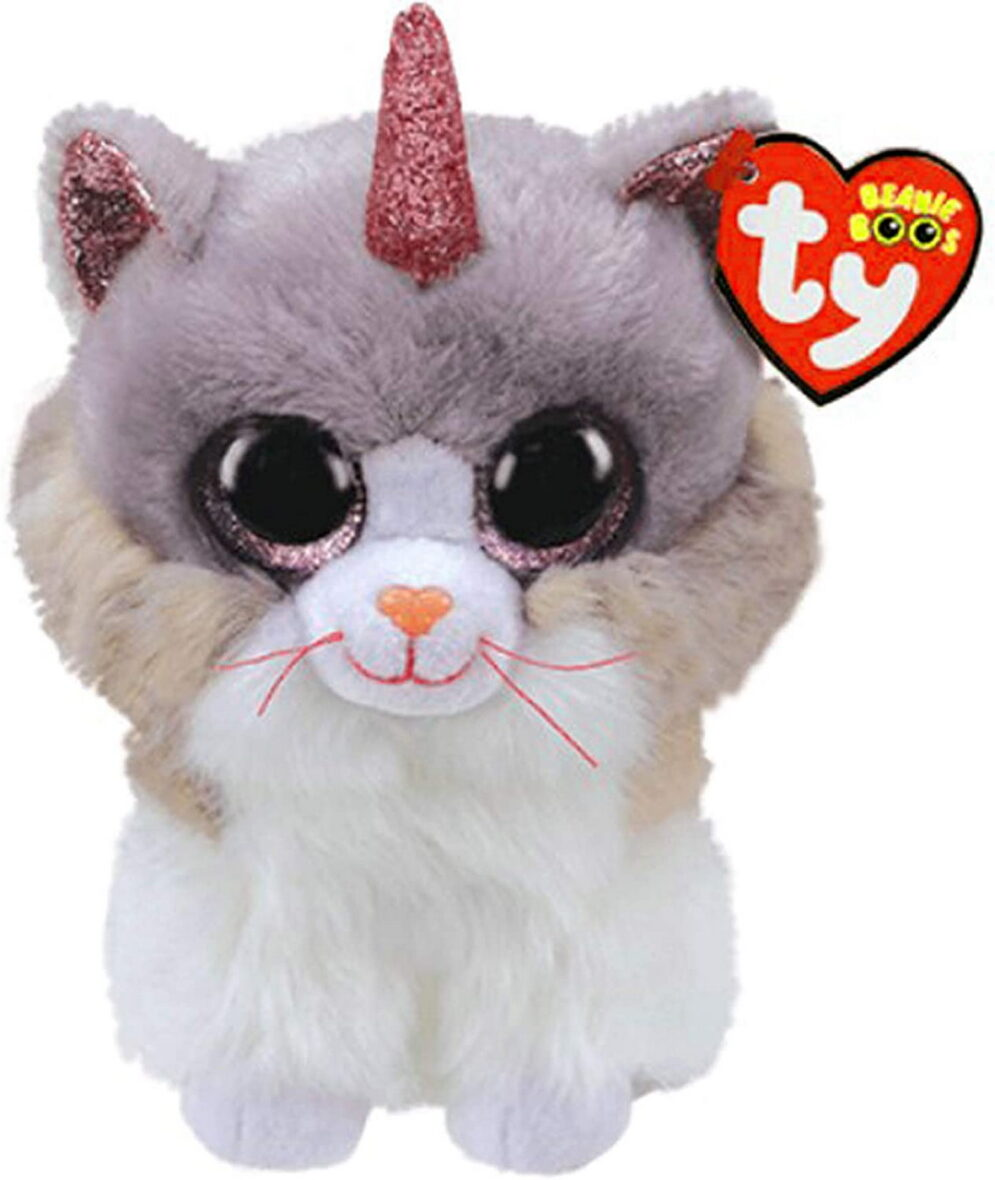 Plus Ty 15cm Pisica Unicorn