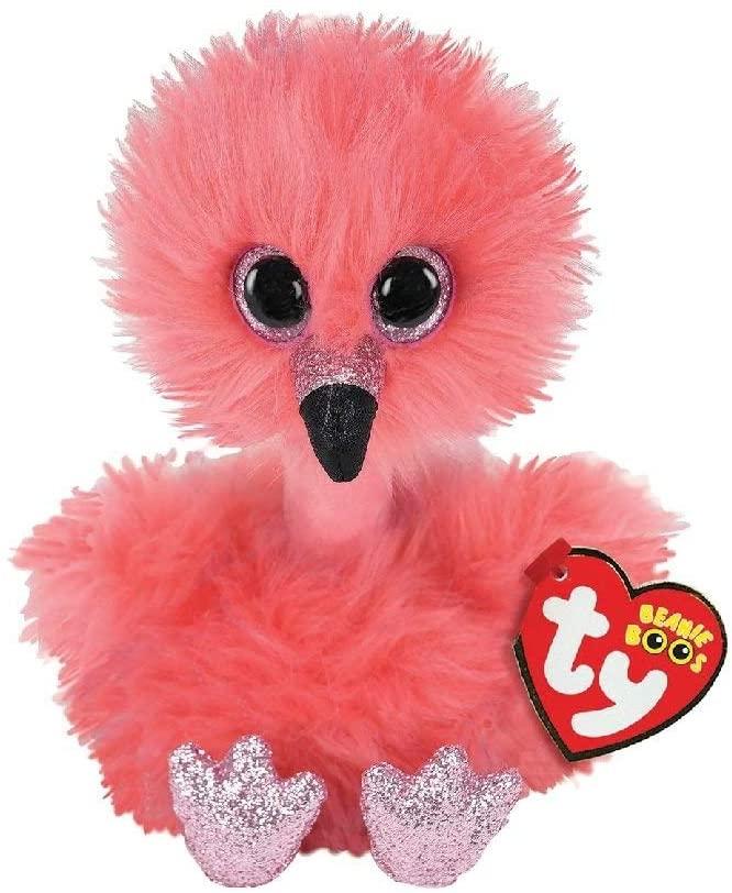 Plus Ty 15cm Flamingo Cu Gatul Lung