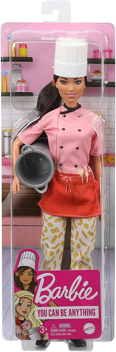 Barbie Papusa Cariere Bucatar Sef