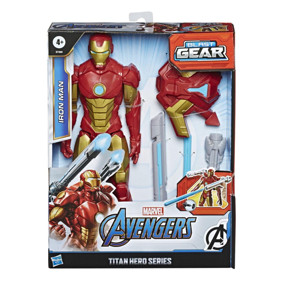 Avengers Figurina Titan Hero Blast Gear: Iron Man 30cm