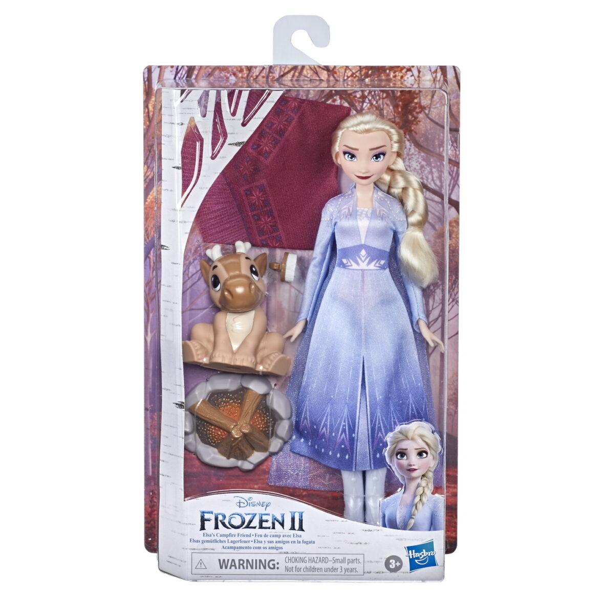 Papusa Frozen 2 Elsa Foc De Tabara