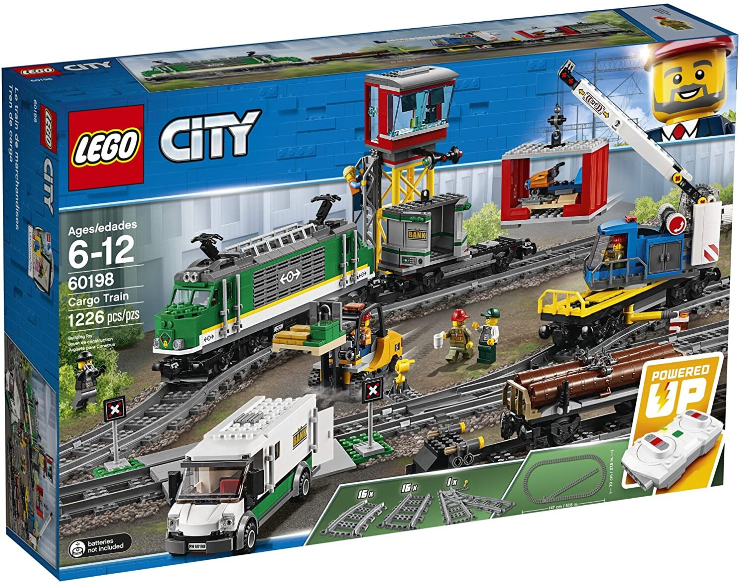 Lego City Tren Marfar