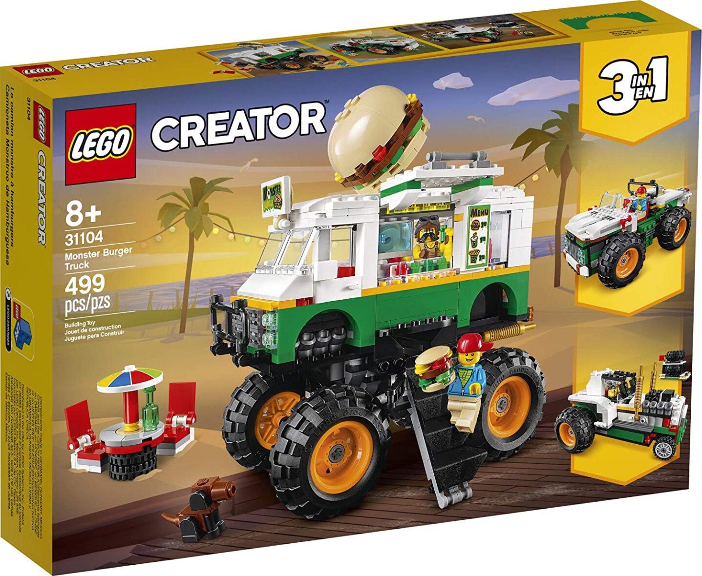 Lego Creator 3 In 1 Camion Gigant Cu Burger