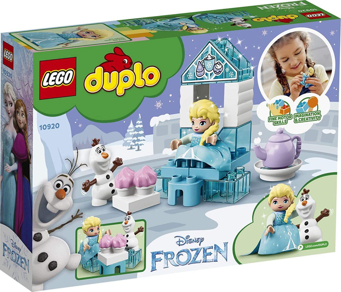 Lego Duplo Elsa Si Olaf La Petrecere