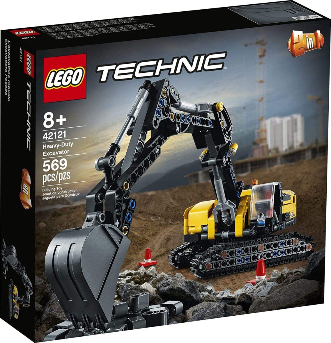 Lego Technic Excavator De Mare Putere