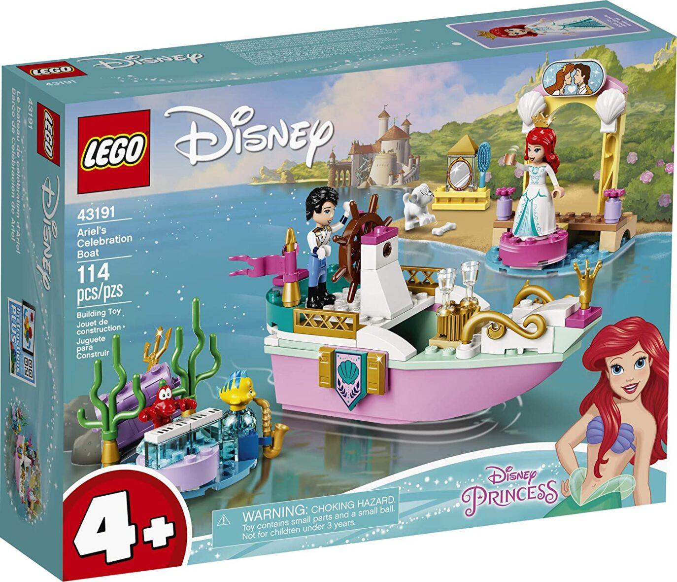 Lego Disney Barca De Festivitati A Lui Ariel