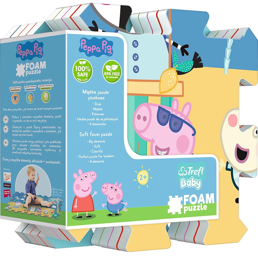 Puzzle De Podea Din Spuma Peppa Pig Summer