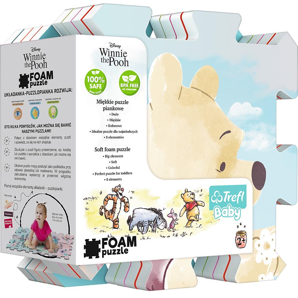 Puzzle De Podea Din Spuma Winnie The Pooh