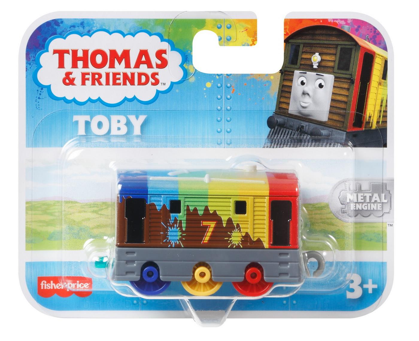 Locomotiva Toby Curcubeu