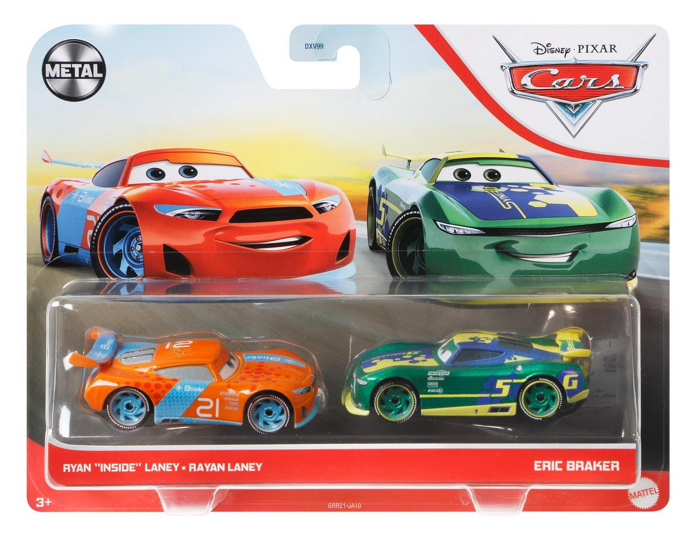 Cars3 Set 2 Masinute Metalice Rayan Laney Si Eric Braker