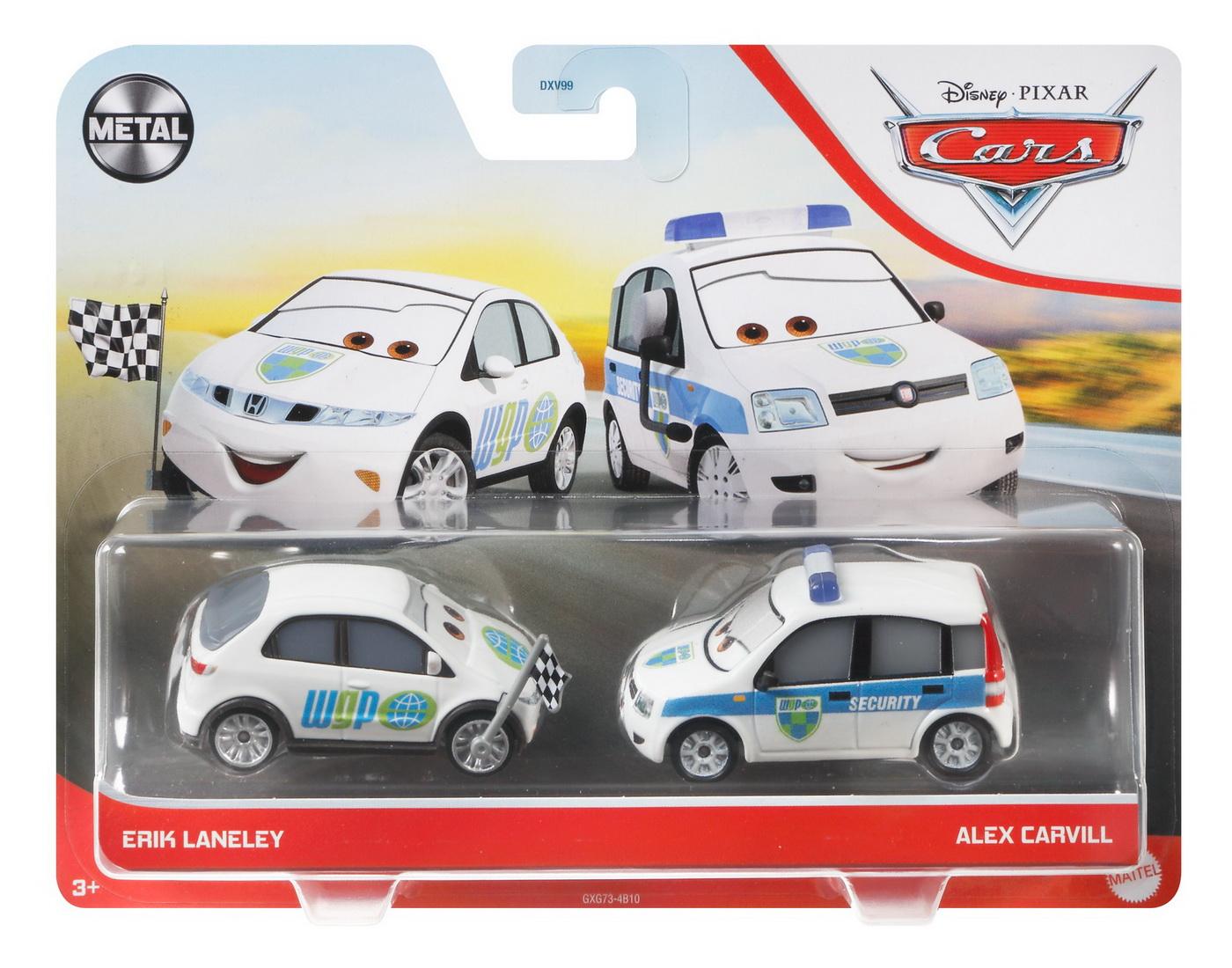Cars3 Set 2 Masinute Metalice Erik Laneley Si Alex Carvill