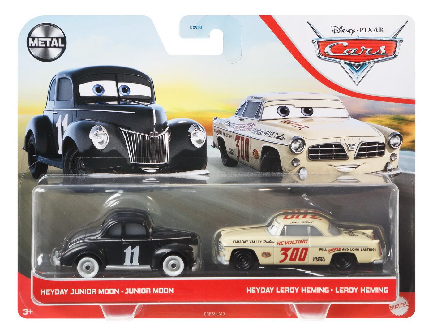 Cars3 Set 2 Masinute Metalice Junior Moon Si Leroy Heming