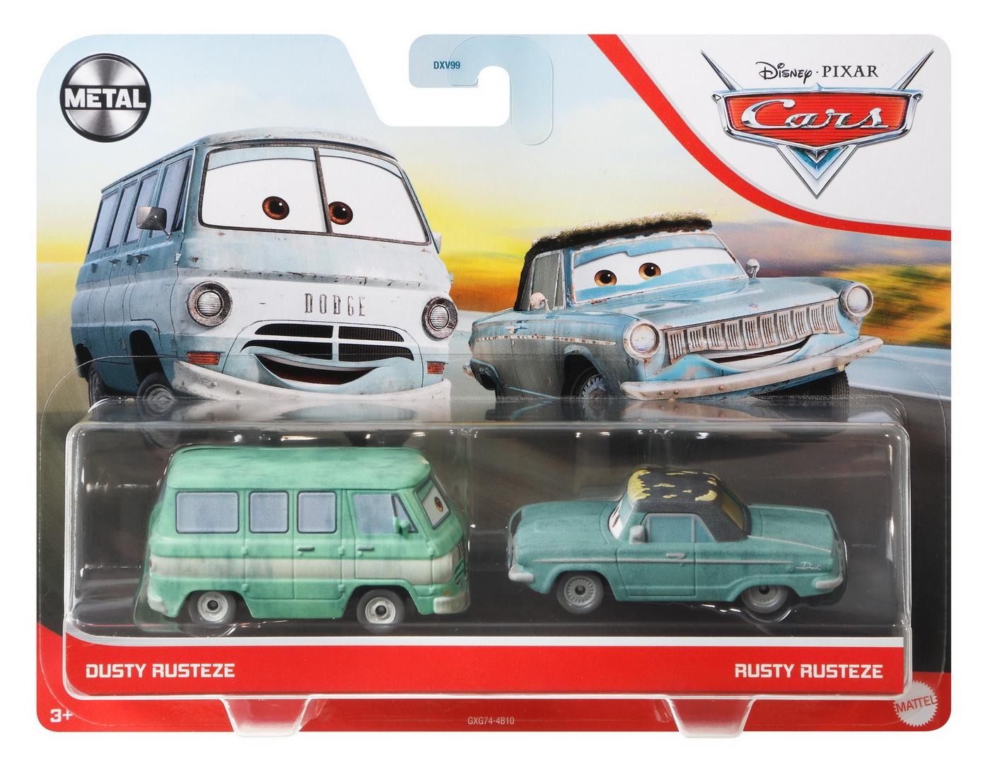 Cars3 Set 2 Masinute Metalice Dusty Rusteze Si Rusty Rusteze