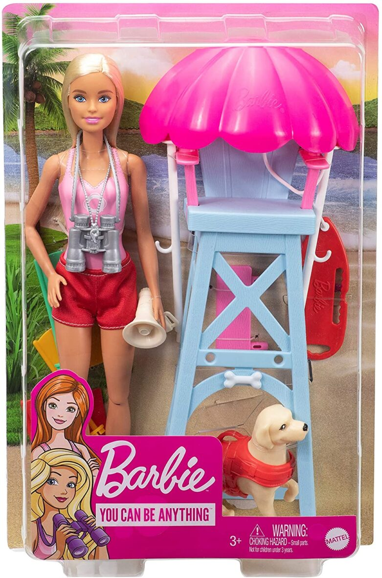 Barbie Papusa Cariere Set Sport Salvamar
