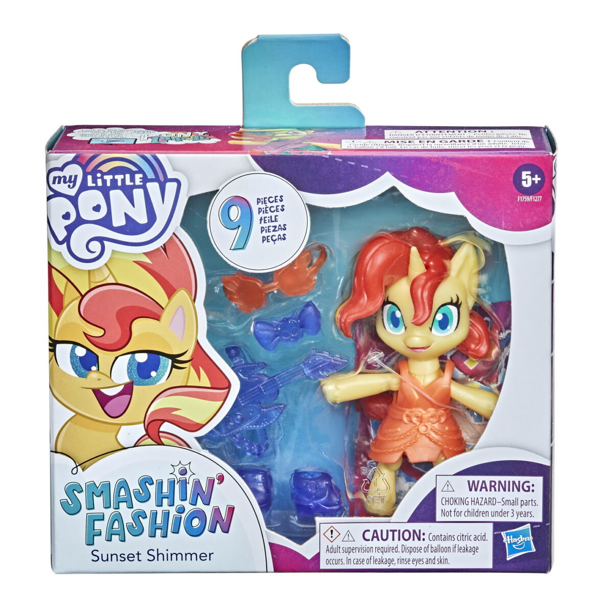 My Little Pony Smashin Fashion Sunset Shimmer