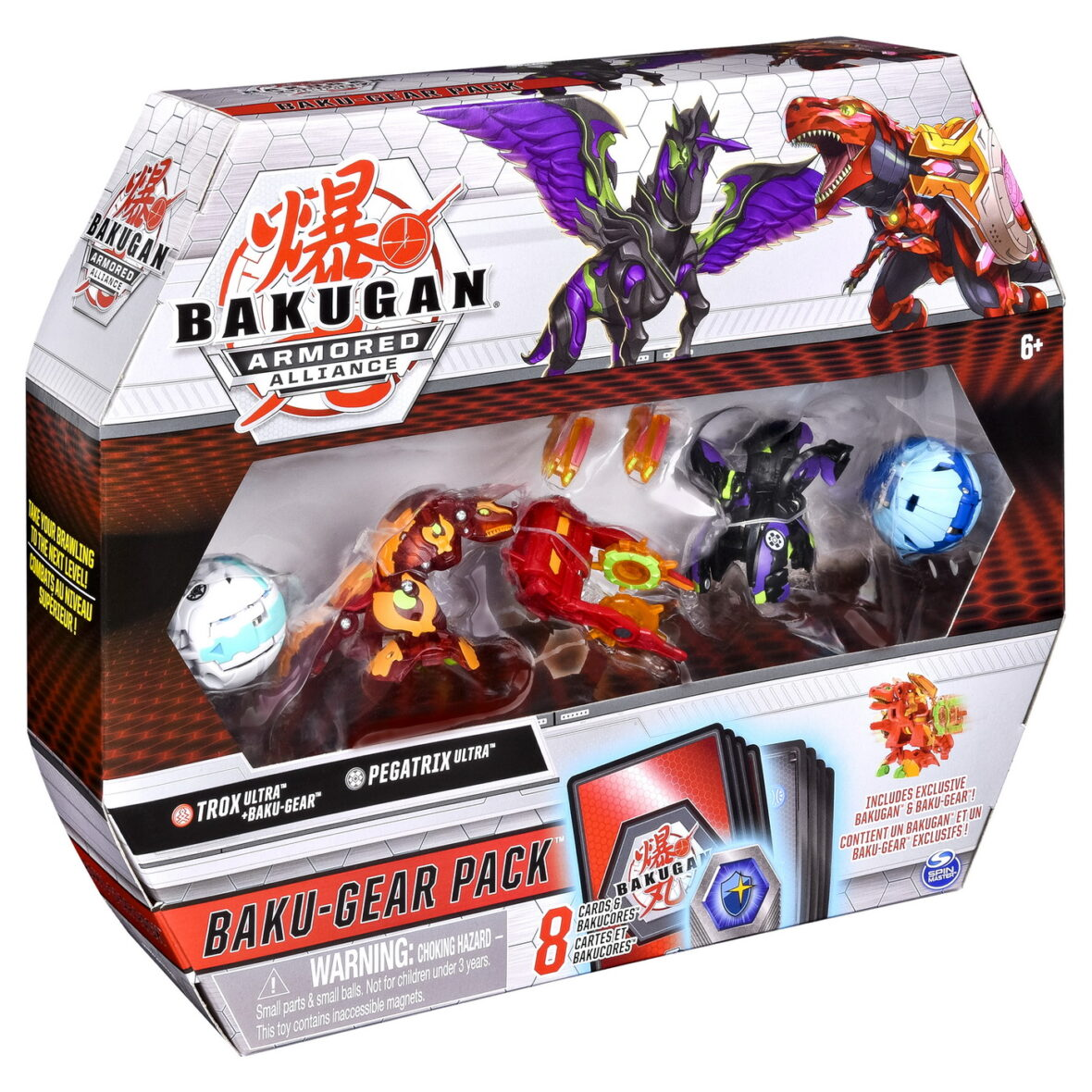 Bakugan S2 Set De Lupta Ultra Trox Pegatrix Cu Baku-gear