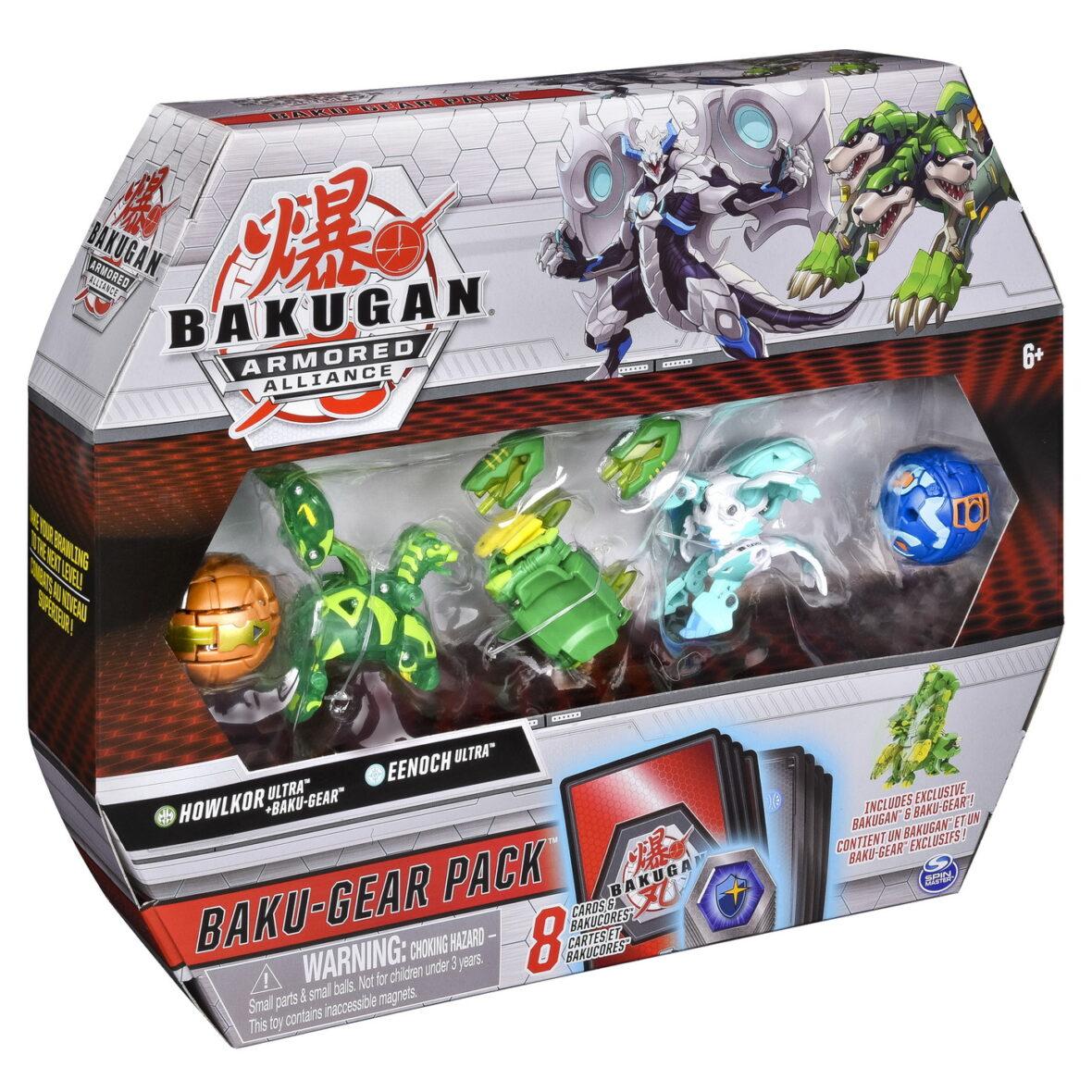 Bakugan S2 Set De Lupta Ultra Howlkor Si Eenoch Cu Baku-gear