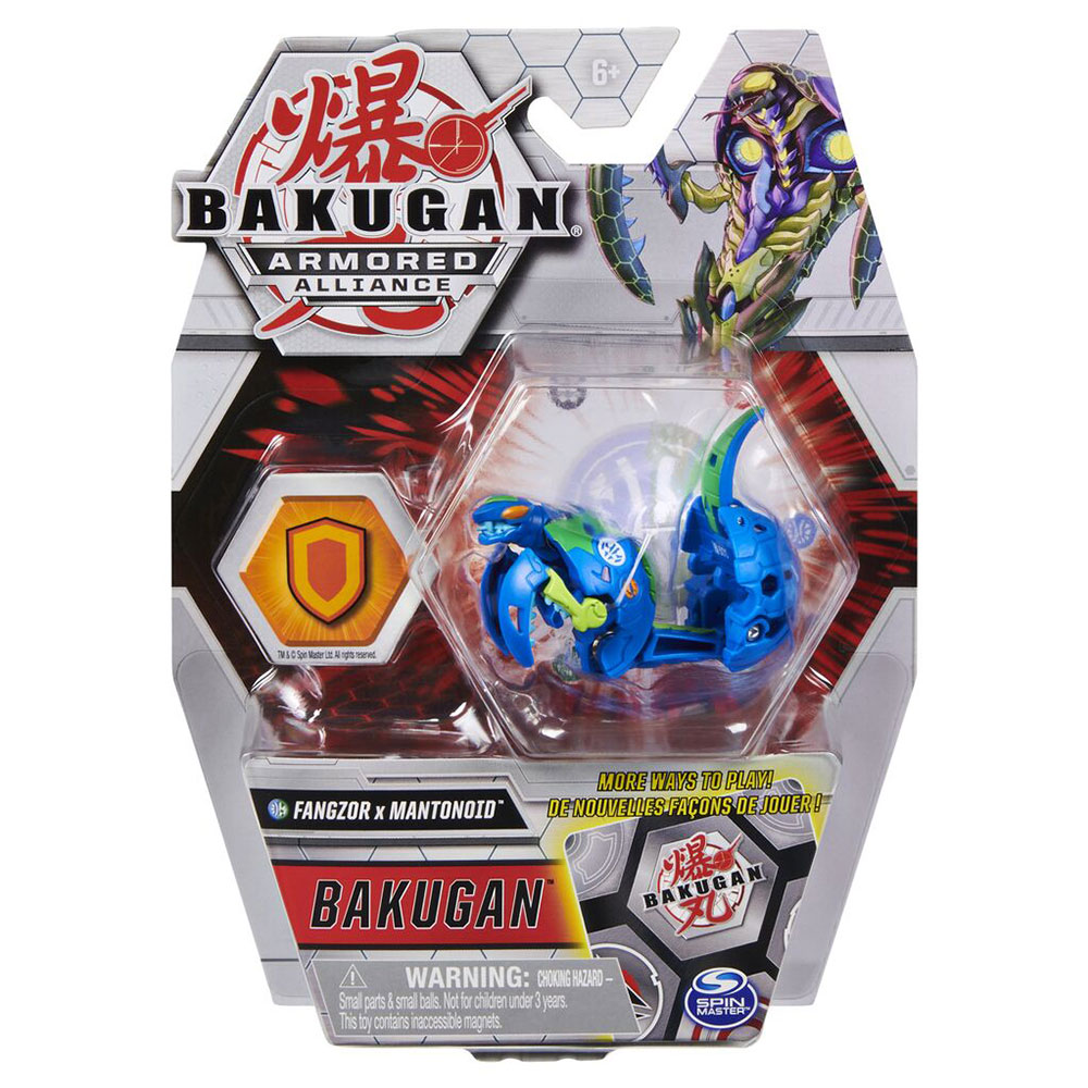 Bakugan S2 Bila Basic Fangzor Cu Card Baku-gear