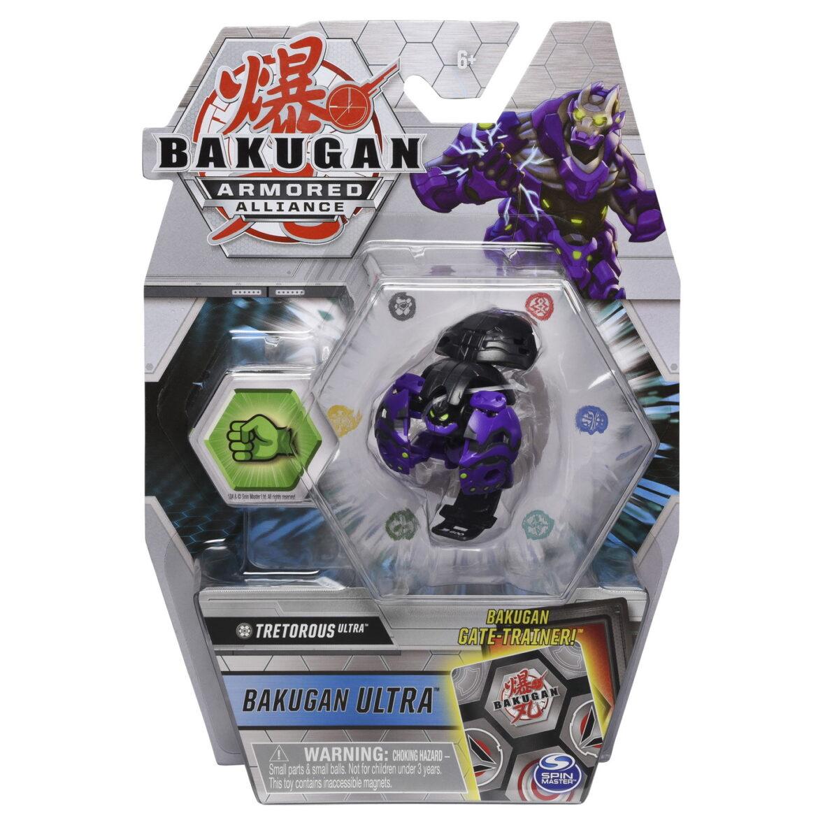 Bakugan S2 Bila Ultra Tretorous Cu Card Baku-gear