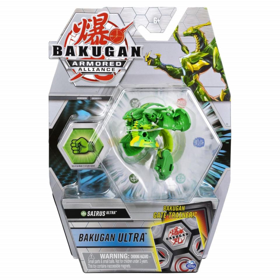 Bakugan S2 Bila Ultra Sairus Cu Card Baku-gear
