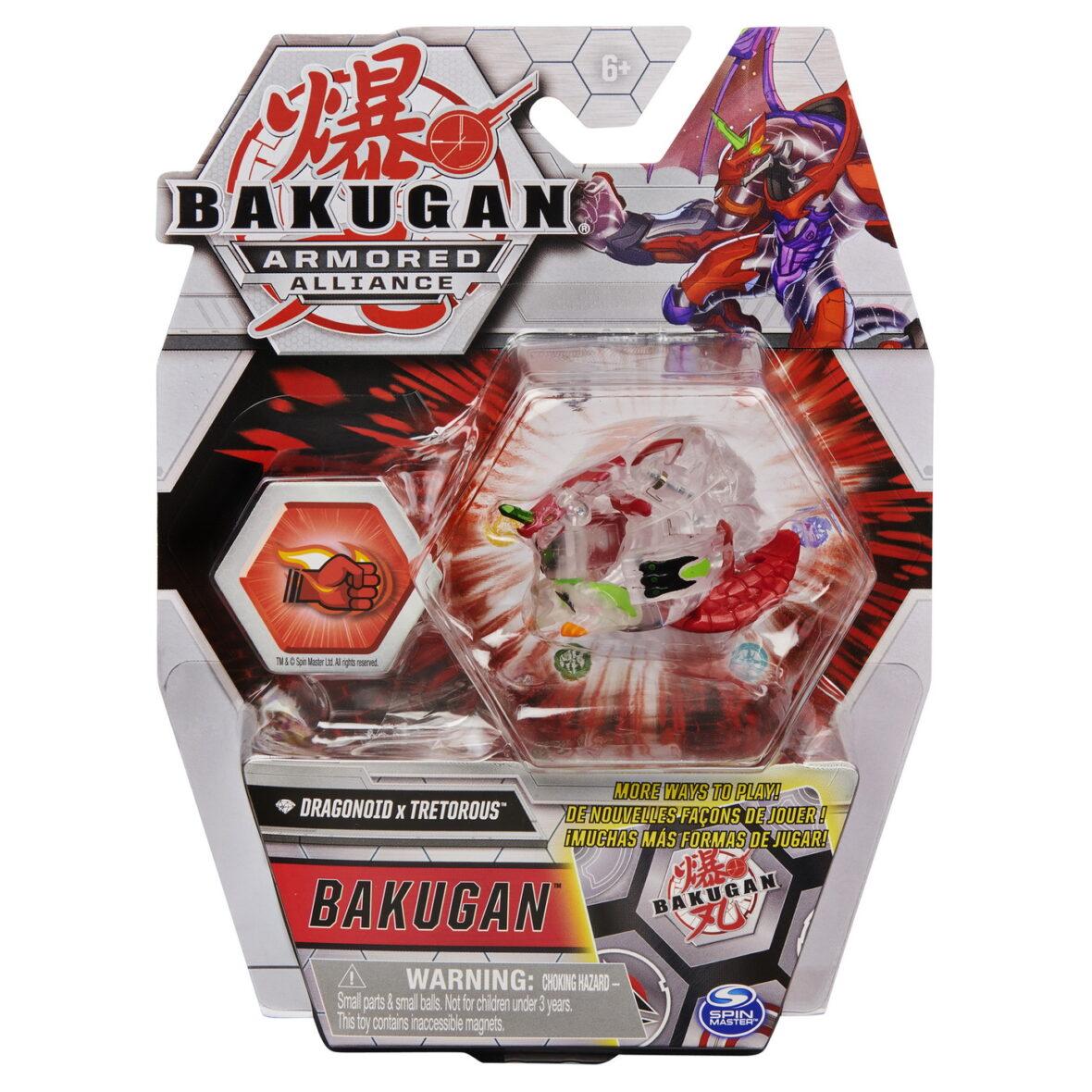 Bakugan S2 Bila Basic Dragonoid Cu Card Baku-gear Tretorous
