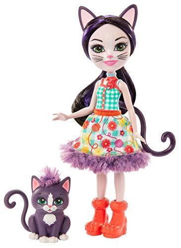 Enchantimals Papusi Si Animalute Ciesta Cat & Climber