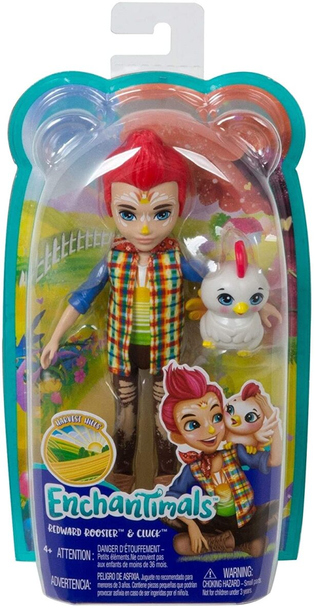 Enchantimals Papusi Si Animalute Redward Rooster & Cluck