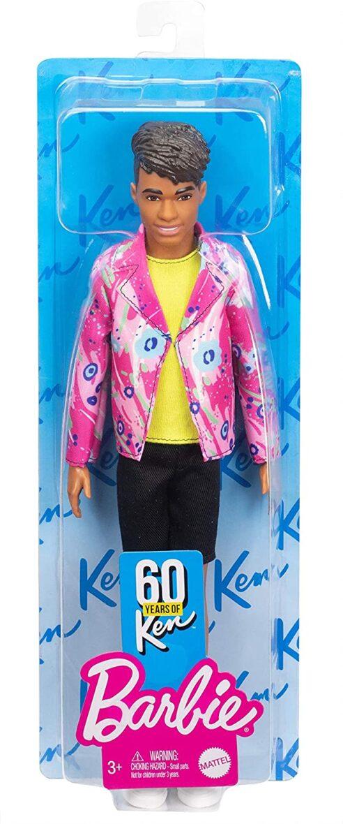 Barbie Papusa Ken Aniversar 60 Ani Rocker Derek 1985
