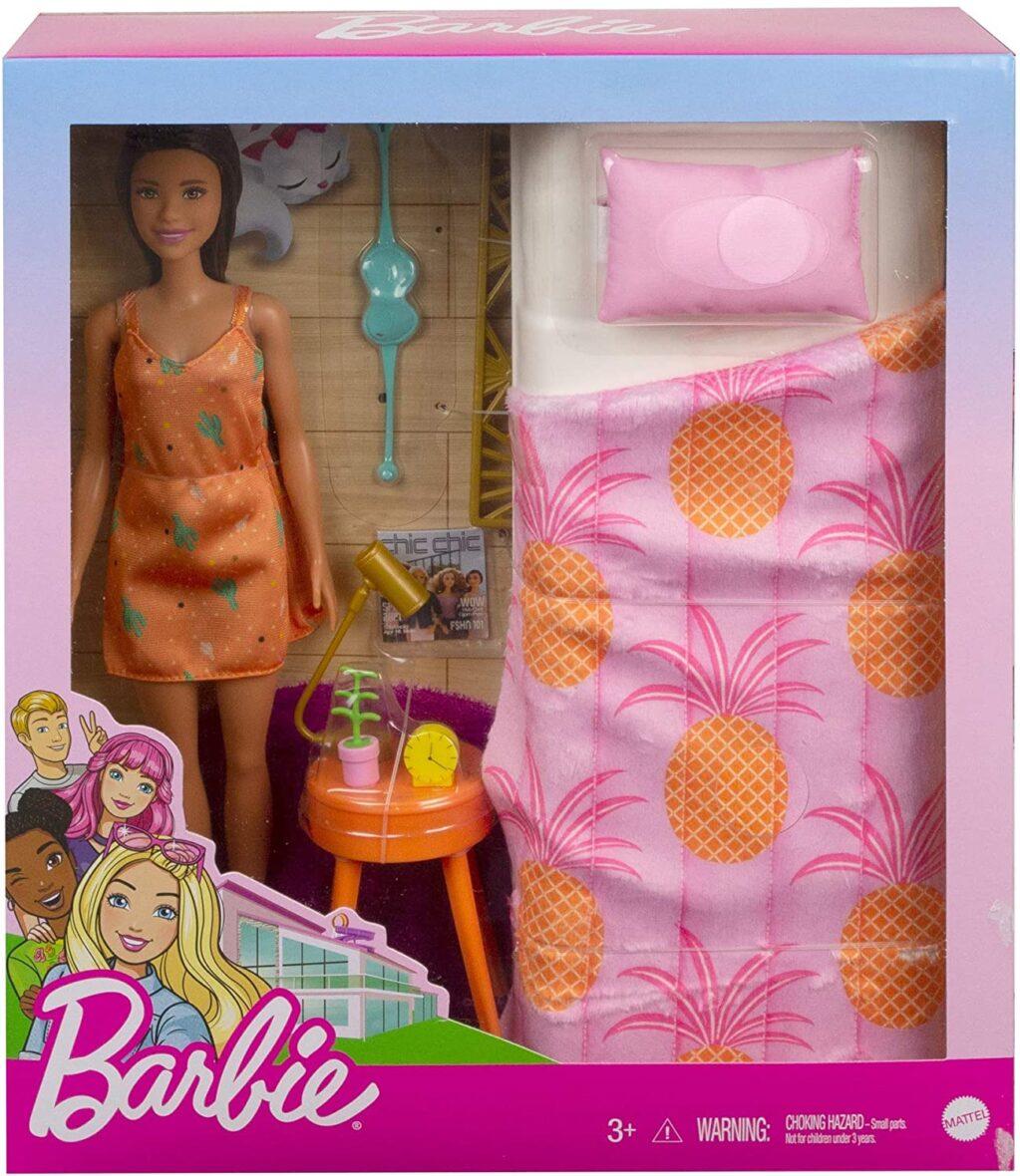 Barbie Papusa Si Accesorii Dormitor