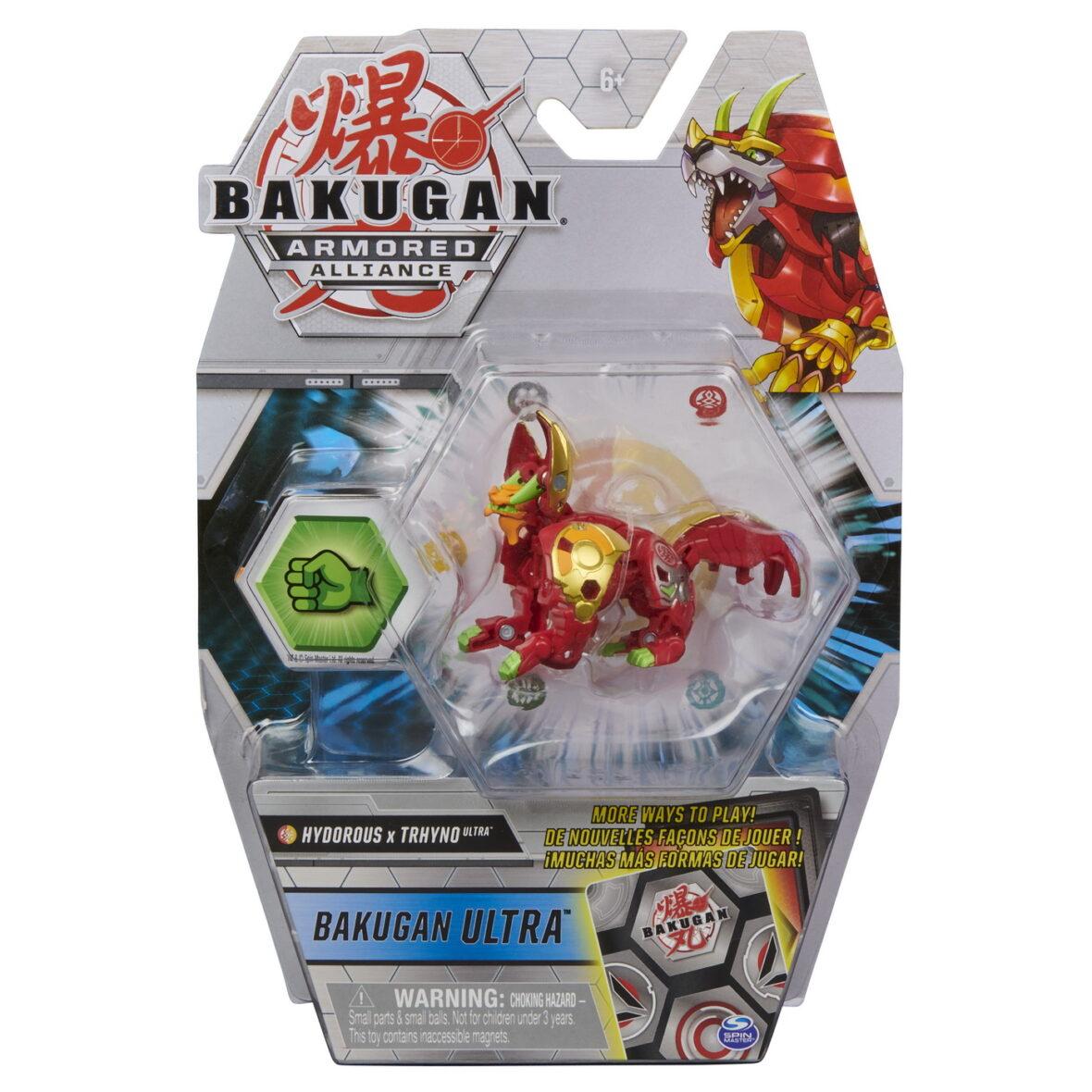 Bakugan S2 Bila Ultra Hydorous Trhyno Cu Card Baku-gear