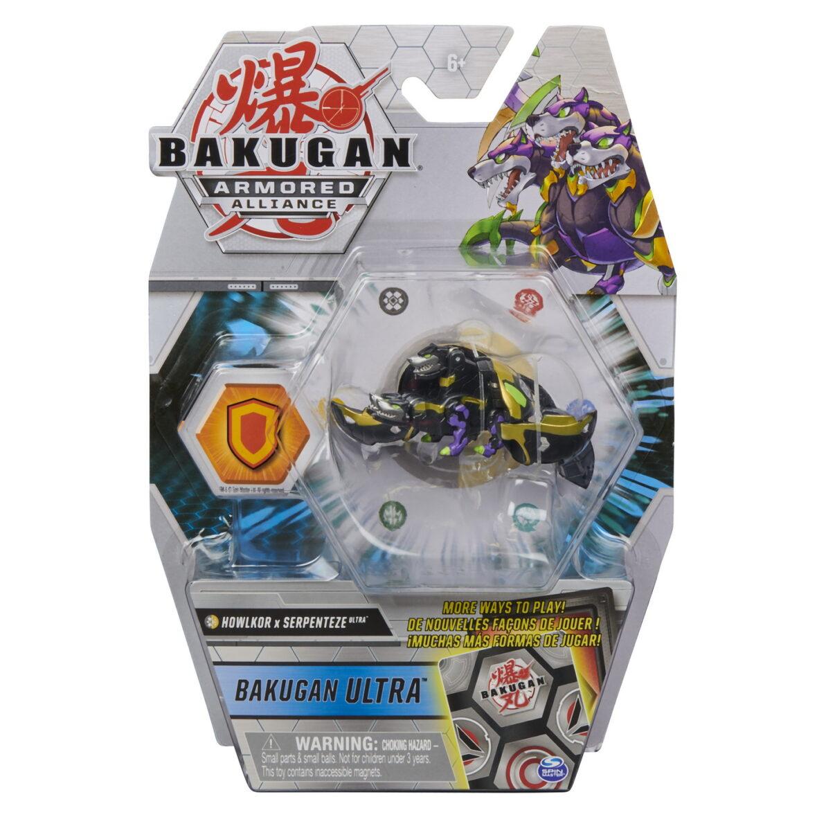 Bakugan S2 Bila Ultra Howlkor Serpenteze Cu Card Baku-gear