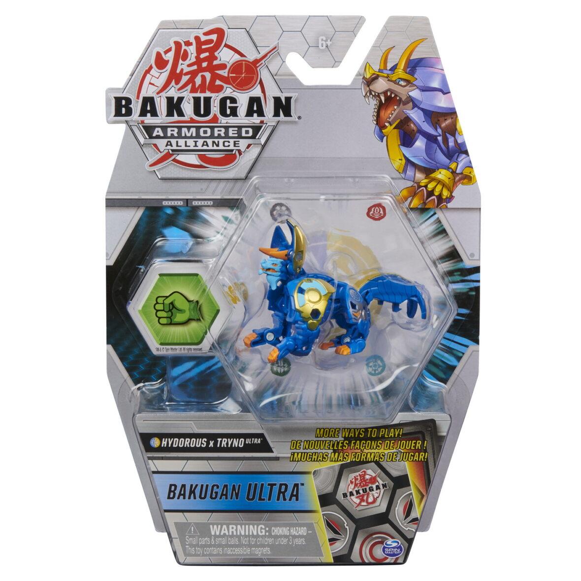 Bakugan S2 Bila Ultra Hydorous Tryno Cu Card Baku-gear