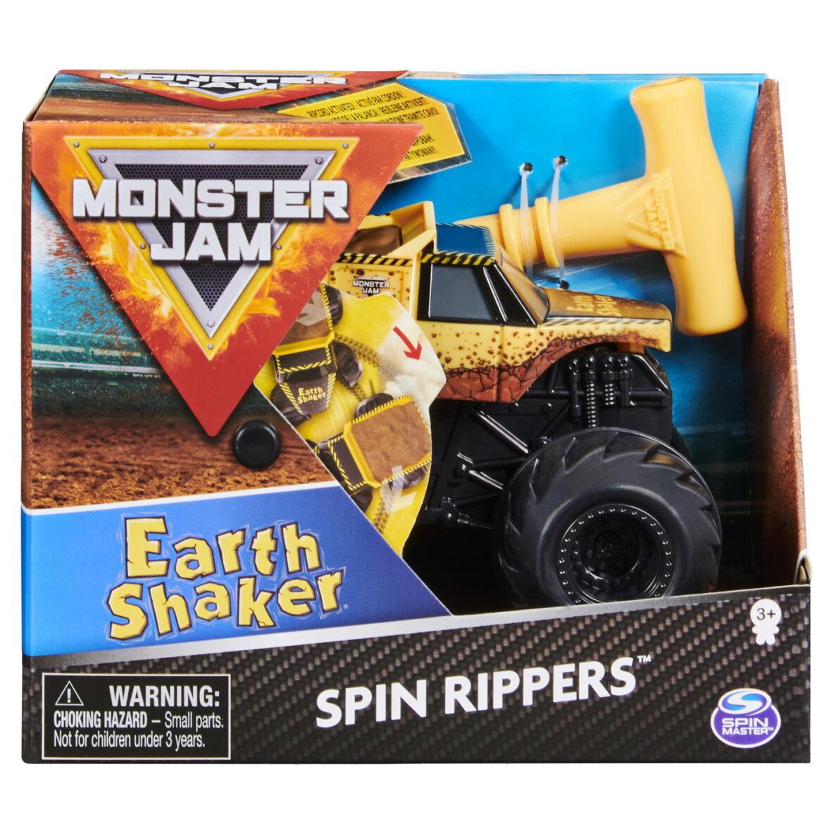 Monster Jam Earth Shaker Seria Spin Rippers Scara 1 La 43