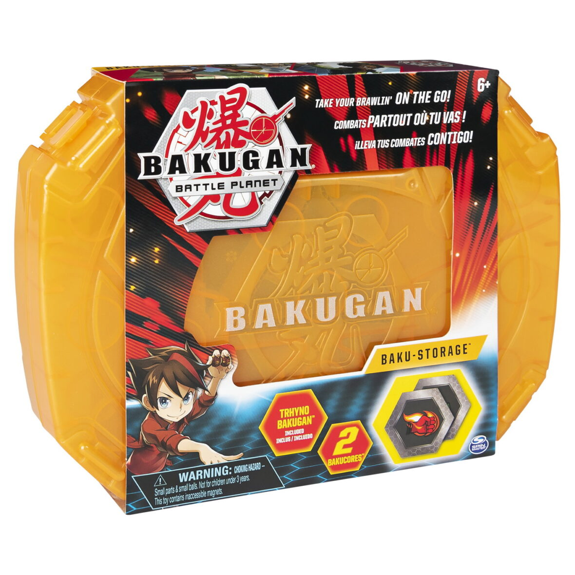 Bakugan Caseta Pentru Pastrare Cu Bila Trhyno