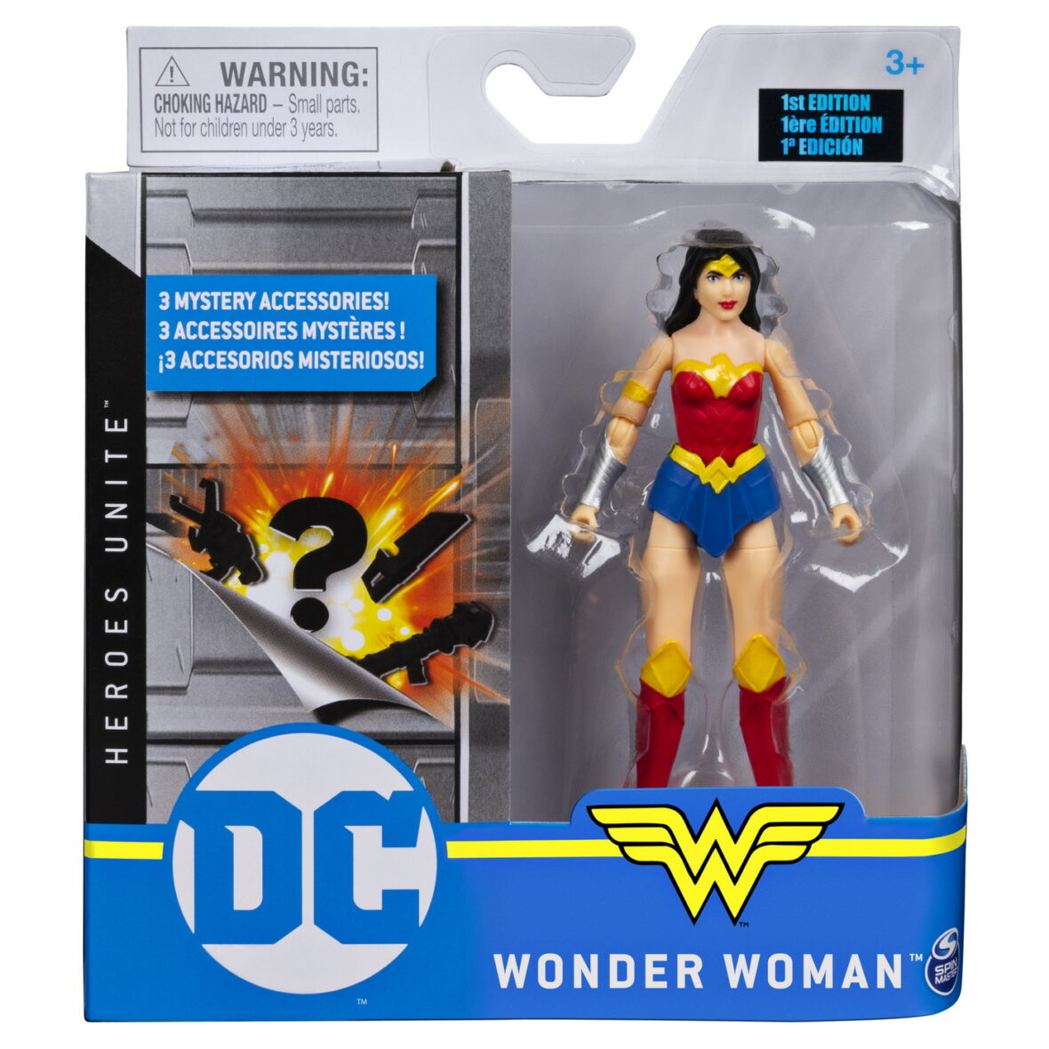 Figurina Wonder Woman 10cm Flexibila Cu Accesorii