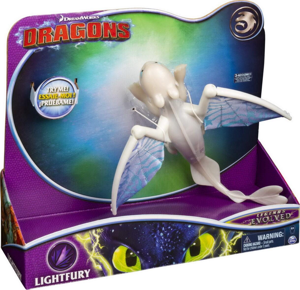 Dragon Deluxe Furia Luminii Seria Legends Evolved